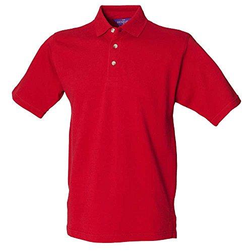 HenburyHerren T-Shirt Rot - Vintage Red