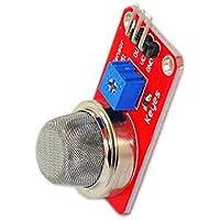 Sparkykit MQ-2 Liquefied Natural Gas Smoke Gas Sensor Module Module Module Red Smoke