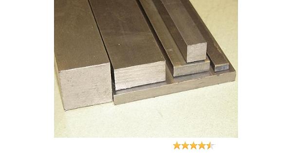 Bright Mild Steel Flat Bar 100mm x 5mm x 500mm  EN3B