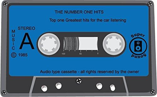 Audio Cassette Super Sound Music Stereo Alta Calidad De Coche De Parachoques Etiqueta Engomada 12 x 10 cm