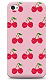 Case Warehouse iPhone 4 / 4s Cheeky Cerise en Gel de Silicone TPU Mince Souple Coque...