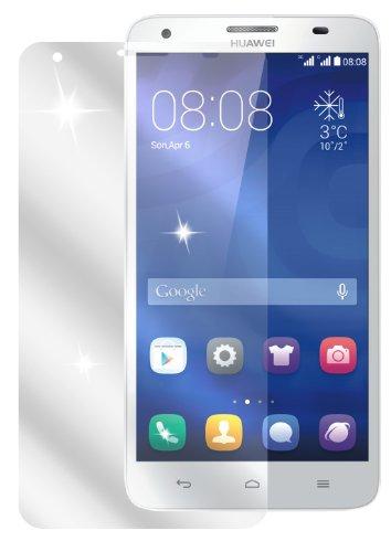 dipos Huawei Ascend G750 Schutzfolie (2 Stück) - kristallklare Premium Folie Crystalclear