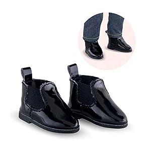 Corolle 210520 Accesorio para muñecas Zapatos de muñeca - Accesorios para muñecas (Zapatos de muñeca, Negro, Niño, Chica, 36 cm)