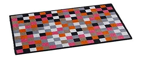 Boite Carreaux Beige - 'Paillasson paillasson/Tapis/paillasson/passwort/Paillasson/tapis anti-poussière modèle, gris, Pixel Multi