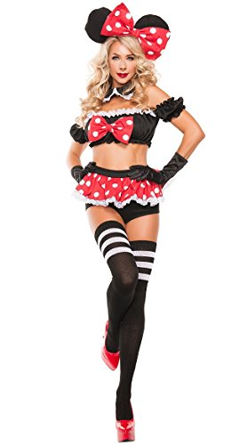 DLucc Halloween verkleiden sich Mickey Mouse Disney Mickey spielen Dress sexy ()