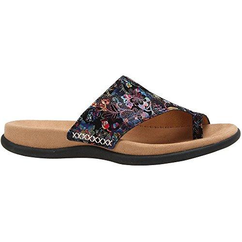 Gabor 43-700 Schuhe Damen Pantoletten Dianetten Zehentrenner, Schuhgröße:39;Farbe:Schwarz