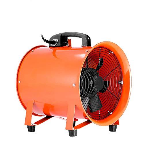 Mophorn Ventilador Profesional para Construcción 250mm Ventilador de Piso Industrial 220 V Ventilador...