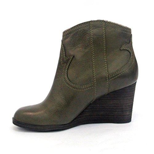 Lucky Brandcowboy designtem Keilabsatz Stiefel, UK 3,5, UPE: 98 Olivgrün