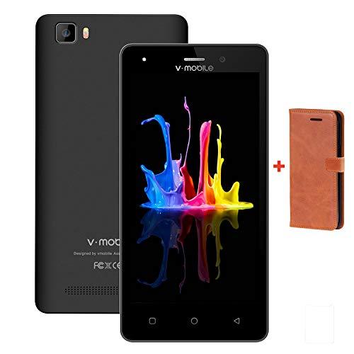 Moviles Libres,9Pcs 5.0 Pulgadas Pantalla 8GB ROM 1GB Ram Dual Sim 2800mAh Batería Android 7,0 5MP Cámara Quad Core V...