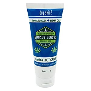 Uncle Buds Hemp Hand & Foot Cream