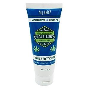 Uncle Buds Hemp Hand & Foot Cream
