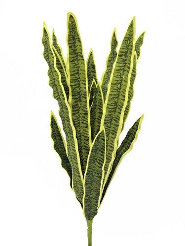 Künstliche Sansevieria-Pflanze auf Steckstab, gelb-grün, 60 cm - outdoor - Künstliche Zimmerpflanze - artplants