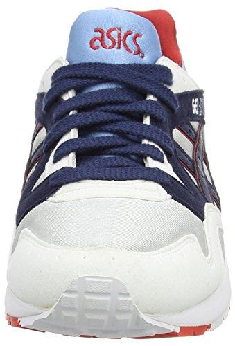 Asics Gel-lyte V Gs, Unisex-Erwachsene Sneakers Grau (soft Grey/navy 1050)
