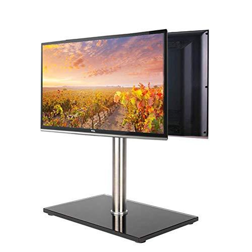 KBKG821 Universal Mobile TV-Ständer Fahrbare Höhe Flachbildfernseher Ständer Regal TV-Halterung passt Anzeigen 14 bis 27 Zoll Schlafzimmer Wohnzimmer Mobile Tv-regal