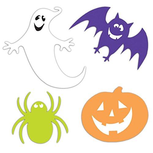 30assortiti halloween fantasmi, pipistrelli, ragni e zucche decorazioni