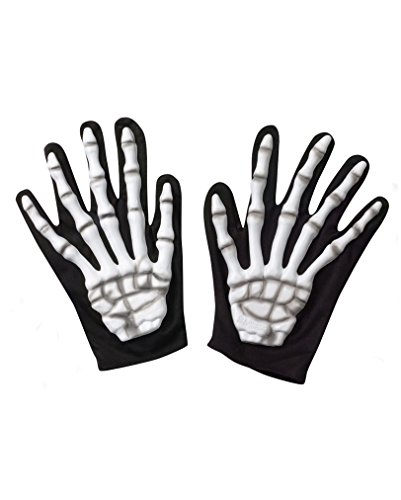 Machen Sensenmann Kostüme (Skelett Handschuhe Blank)