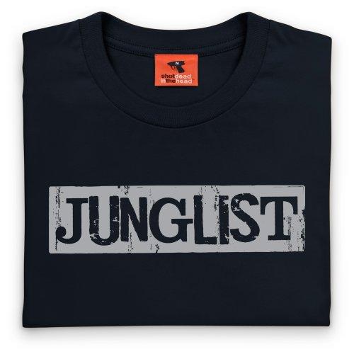 Junglist T-Shirt, Herren Schwarz