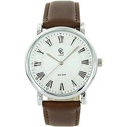 Michael John Damen-Damen-Armbanduhr Leder schwarz Diamanten CZ Michael John 1553