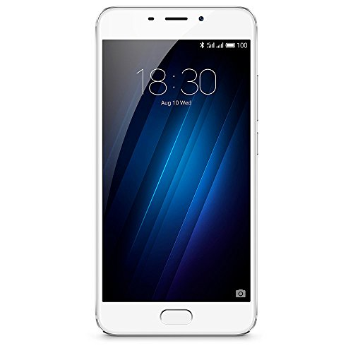 Meizu a680h 32G Silver M3E Smartphone, Fotocamera principale da 13MP, Android 6.0, colore: Argento/Bianco