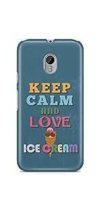 Casenation Love Ice Cream Motorola Moto G3 Glossy Case