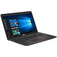 Asus F756UV-TY266T 43,9 cm (17,3 Zoll) Notebook (Intel Core i3-6006U, 12GB RAM, 1TB HDD, NVIDIA GeForce 920MX, DVD-Laufwerk, Win 10 Home) dunkelbraun