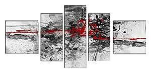 DekoArte - Tableau moderne abstrait 169 180x85cm