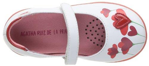 Agatha Ruiz de la Prada 142930, Babies fille Blanc (A Blanco Napa)