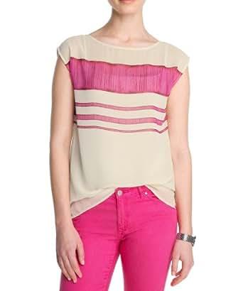 ESPRIT Collection Damen Bluse R23157, Gr. 34 (XS), Pink (661 azalea pink)
