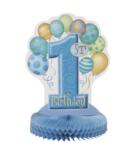 n ersten Geburtstag für Jungen, Wabenmuster ()