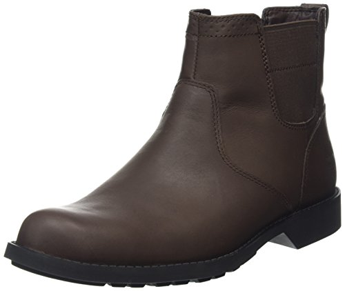 Timberland Fitchburg Waterproof Chelsea, Men's Chelsea Boots, Brown (Dark Brown), 9 UK...