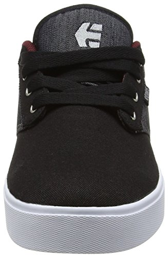 Etnies  Jameson 2 Eco, Chaussures de Skateboard homme Noir (Black Red Black 551)
