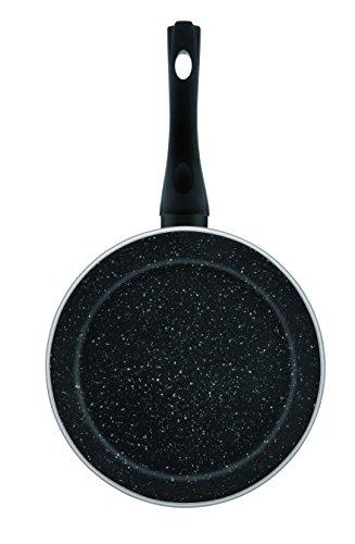 Jata Hogar Sartén, Aluminio Forjado, Negro, 24 cm