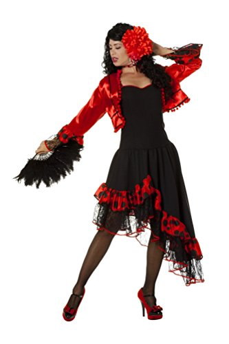 Kostüm Evita - Karneval-Klamotten Kostüm Spanierin Evita Dame Kostüm Karneval Spanien Damenkostüm Größe 46