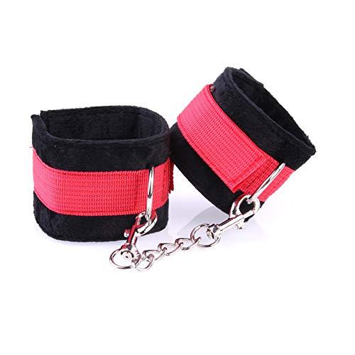 XZHPP Bondage Handcuffs Tools_ Plush Foreplay Adults Wanted -