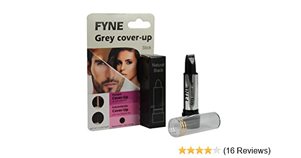 1e47ac679a1 FYNE Cover-Up Sticks for Men & Women Instant Grey Hair Touch-ups (Natural  Black (888-04)): Amazon.co.uk: Beauty