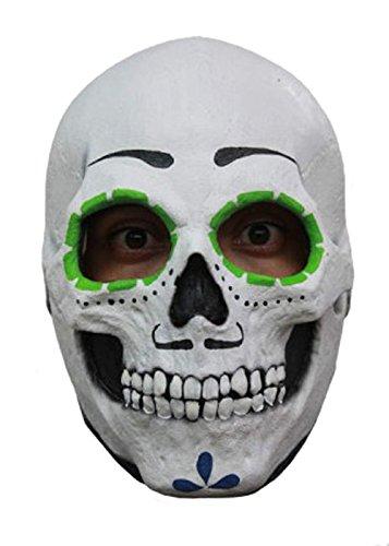 Creative Collection Co. Mens-Tag der Toten Sugar Skull Maske