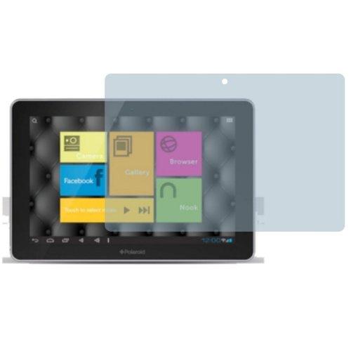 2x Entspiegelnde Displayschutzfolie Bildschirmschutzfolie von 4ProTec für Polaroid M7 - Nahezu blendfreie (Luigi Kind Zubehör Kit)