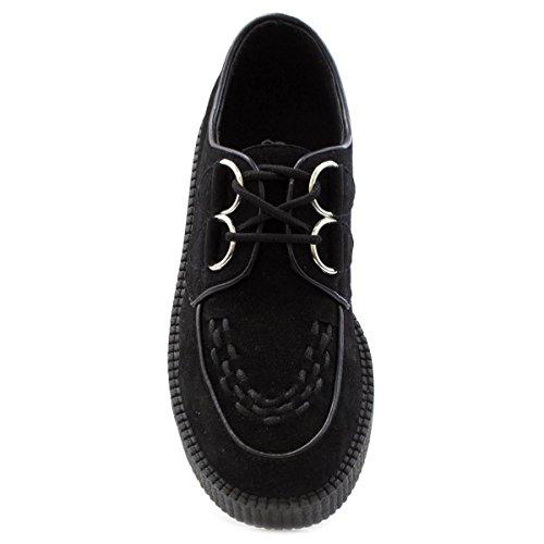 Lilley , Chaussures de ville à lacets pour femme Noir