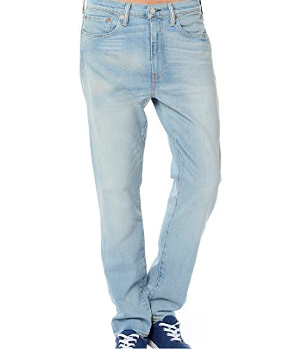 Levi'S - Pantalón Vaquero Levi'S Slim Taper, 522, Hombre, Color Índigo Claro, Talla 31