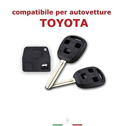 Body Shell Schlüssel Fernbedienung mit iPad 3Schlüssel für Auto Toyota Corolla RAV4Celica PRIUS