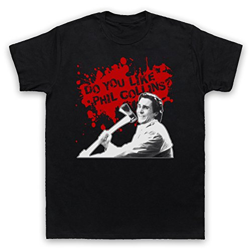 Inspired Apparel Inspired by American Psycho Do You Like Phil Collins? Unofficial Mens T-Shirt