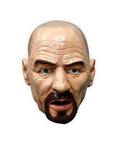 Breaking Kostüm Bad Heisenberg (Hochwertige Latex-Maske WALTER WHITE Heisenberg Breaking Bad)