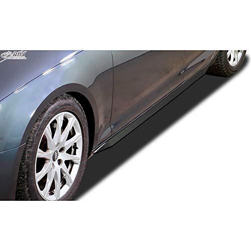 RDX Minigonne Laterali A4 8W B9 'Slim', RDSL500041, nero lucido, lato gonne, Quantitativo 1 (set: sinistra & destra)