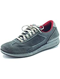 Zapatos para hombre Zen Modelo Deportivo de ante y piel gris