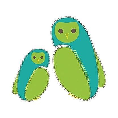 41eycwFm%2BpL. SS416  - Bordado de PurFlo SleepSac 2,5tog (búho verde, 3–9meses)–Saco de dormir para bebé