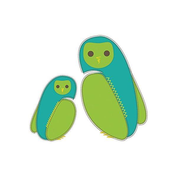 PurFlo – Saco de Dormir Bordado para bebé (2,5 TOG, Kiwi, 3 – 9 Meses)