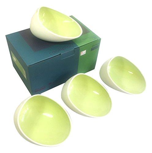 Cookplay Jomon L-Bol en Porcelaine Vert