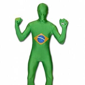 El celibato 97194242.143.S. - Speedsuit Brasil - cuerpo Unisex catsuit traje de mono, multicolor