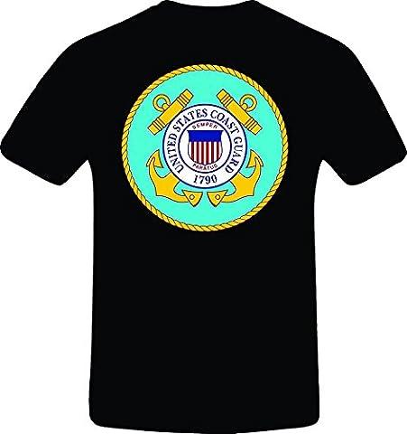 PAPAGBRBYPHXLL Men's United State Coast Guard, Custom Tshirt XXX-Large