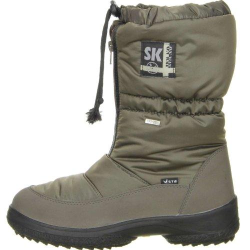 Vista Damen Winterstiefel Snowboots EISKRALLEN khaki Khaki